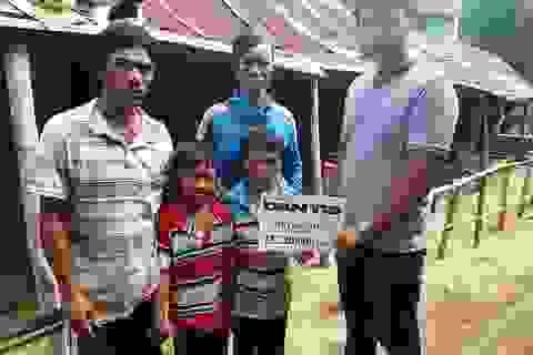 Bạn đọc giúp đỡ gia đình chị Nguyễn Thị Ca gần 40 triệu đồng