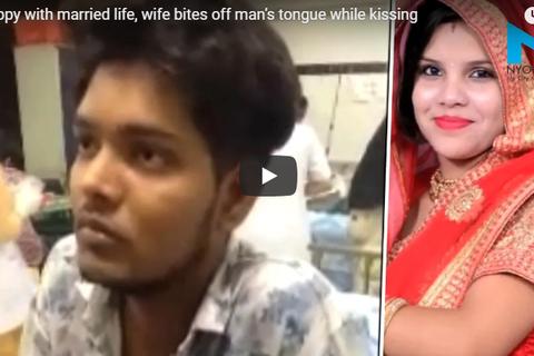 Bất mãn với hôn nhân, vợ cắn đứt lưỡi chồng
