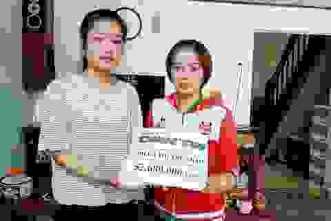Hơn 52 triệu đồng đến với nữ sinh mồ côi cả cha lẫn mẹ