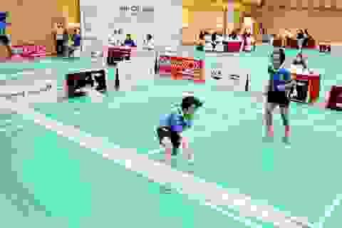 Gần 800 vận động viên tranh tài giải cầu lông học sinh - sinh viên TP Hà Nội