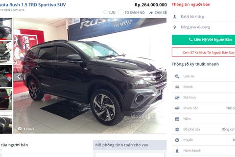 """Xe thường, giá rẻ tại Thái, Indonesia """"hoá"""" hàng hot, giá đắt ở Việt Nam"""