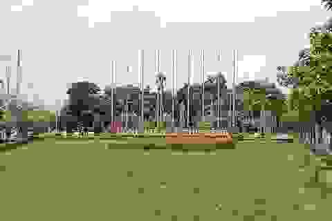 Tượng đài liệt sĩ Lê Thị Riêng bị xuống cấp ở Bạc Liêu đã được khắc phục