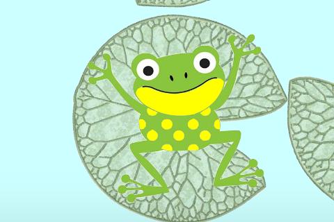 Toán tương tác: Kìa chú là chú ếch con...