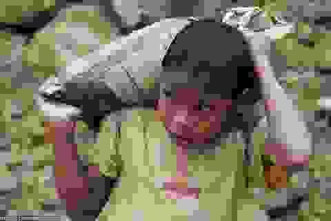Dân Trung Quốc kéo cả lao động trẻ em đi đào vàng trái phép