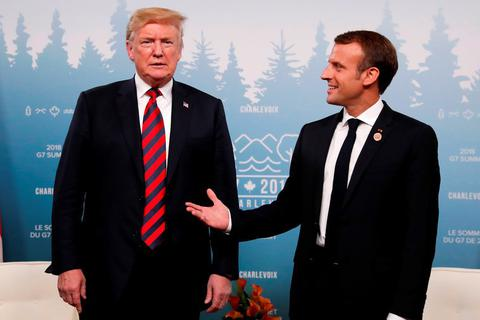 Tổng thống Pháp: Châu Âu không thể phụ thuộc vào Mỹ về an ninh
