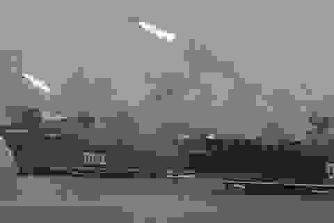 Nga đưa dàn tàu chiến hùng hậu tới gần Syria: Một mũi tên trúng nhiều đích