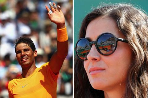 Bạn gái xinh đẹp của Rafael Nadal tạo cơn sốt tại giải tennis Mỹ mở rộng