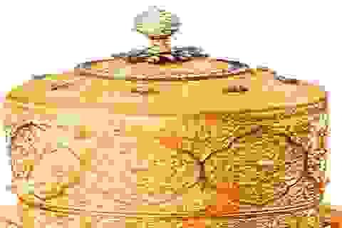 """Hộp cơm bằng vàng của vị vua từng giàu nhất thế giới """"không cánh mà bay"""""""