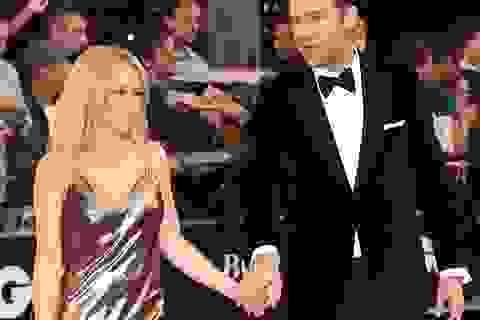 """Kylie Minogue đẹp như """"nữ thần"""" khi sánh đôi cùng bạn trai mới"""