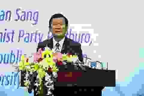 Nguyên Chủ tịch nước Trương Tấn Sang: Đất nước muốn phát triển, hệ thống giáo dục đại học phải có chất lượng cao
