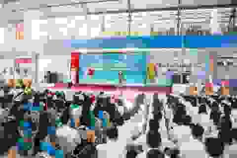 Trường THCS -THPT Tân Phú khai giảng năm học mới