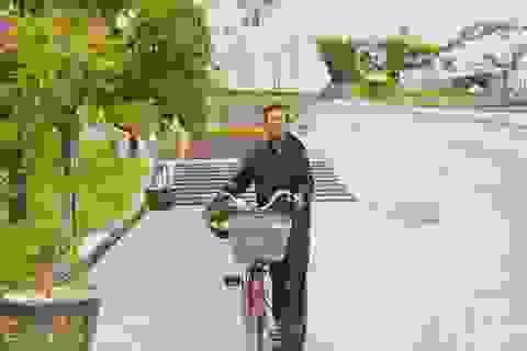 Cựu binh 67 tuổi đạp xe qua 25 tỉnh thành, vượt gần 2.300 km