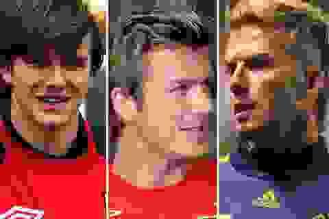 Hành trình thay đổi kiểu tóc của David Beckham