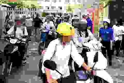 Bạc Liêu: Xử lý nghiêm hành vi học sinh đi xe máy không đội mũ bảo hiểm
