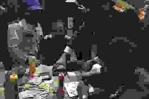 Triệt phá tụ điểm buôn bán ma túy, tàng trữ vũ khí trái phép