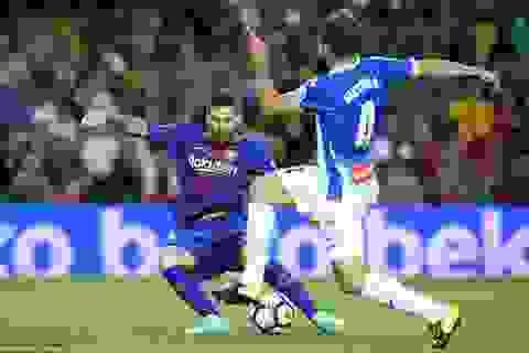 Barcelona duy trì giấc mộng ăn ba ở trận derby Catalonia