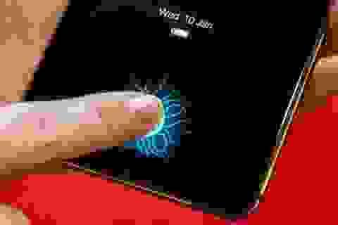 Smartphone đầu tiên với cảm biến vân tay trên màn hình lộ diện tại CES 2018