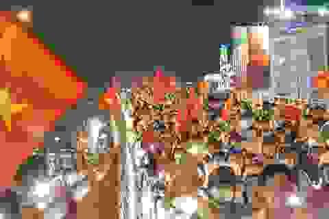 Người Sài Gòn cuồng nhiệt ăn mừng chiến thắng lịch sử của U23 Việt Nam