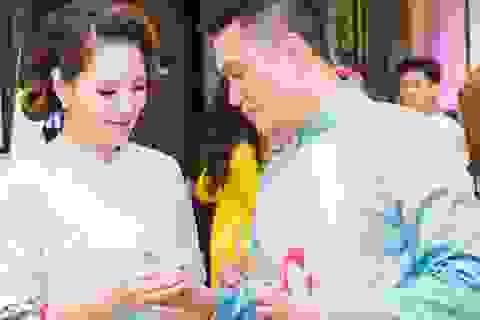 """Sợ Khải Anh ghen nhưng """"thiếu gia Phan Hải"""" vẫn mặc áo đôi """"hẹn hò"""" Đan Lê"""