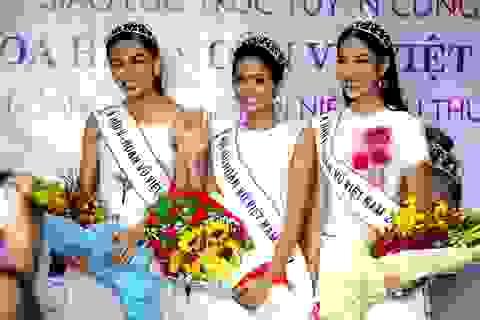 Top 3 người đẹp Hoàn vũ Việt Nam bật mí nhiều điều thú vị cùng độc giả Dân trí