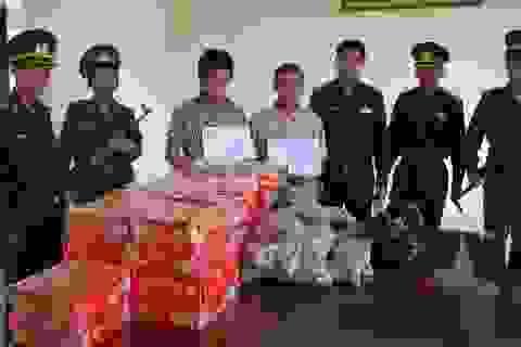 Vượt biên trái phép, mang pháo từ Campuchia về Việt Nam bán dịp tết