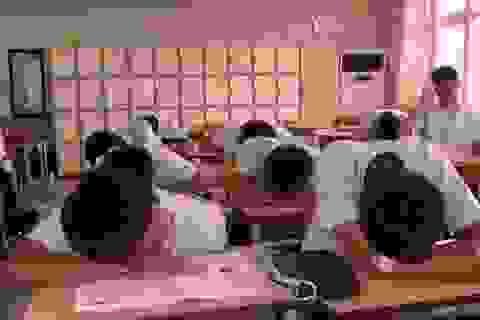 Thiếu ngủ làm giảm thành tích học tập