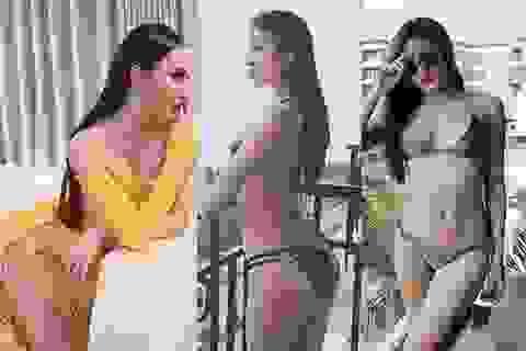 Phạm Hương, Huyền My, Angela Phương Trinh chia sẻ ảnh khoe dáng táo bạo