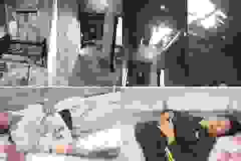 Lửa thiêu rụi căn nhà tồi tàn, 2 vợ chồng nghèo bị bỏng và trắng tay