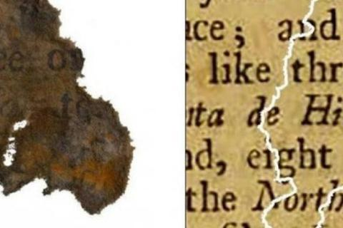 Mẫu giấy 300 năm tuổi từ vụ đắm tàu tiết lộ cướp biển thích đọc gì?