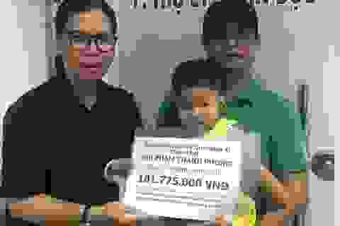 Hơn 101 triệu đồng đến với bé Minh Anh
