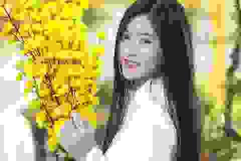 Miss Teen Nam Phương dịu dàng đón Xuân mới