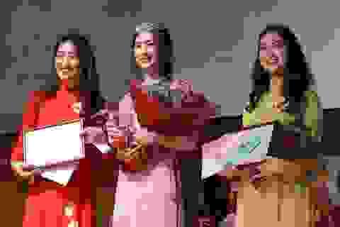 """""""Lộ diện"""" Hoa khôi du học sinh Việt tại xứ sở mặt trời mọc năm 2017"""