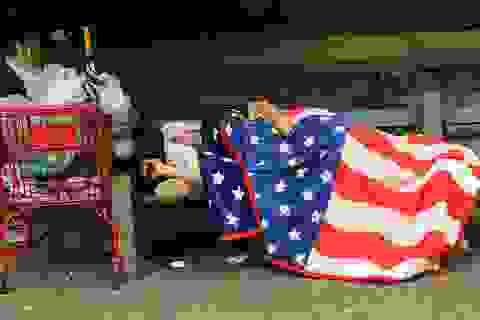 """Góc khuất về chênh lệch giàu nghèo ở """"miền đất hứa"""" Mỹ"""