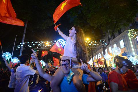 """Người nước ngoài tìm kiếm """"U23 Việt Nam"""" tăng mạnh trên Google"""