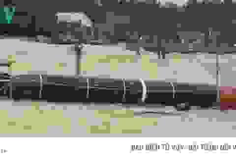 Ngư lôi phát hiện ở Phú Yên là ngư lôi bắn tập của Trung Quốc