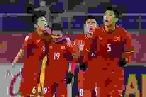 Người hùng Quang Hải trả lời phỏng vấn trên AFC
