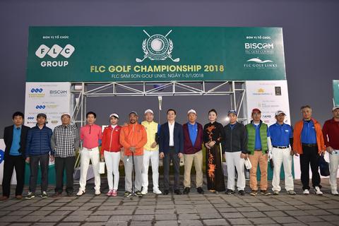 FLC Golf Championship 2018 chính thức khai mạc với kỷ lục về tổng giá trị giải thưởng