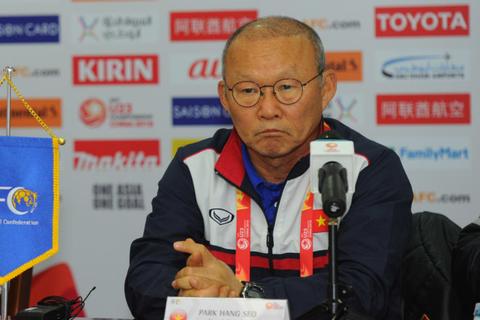 HLV Park Hang Seo tuyên bố sẽ giải quyết Iraq trong 90 phút