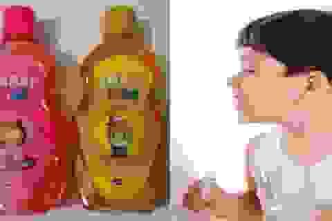 Thu hồi nước súc miệng trẻ em vì không đạt yêu cầu vi sinh