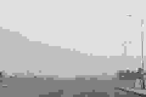 Quảng Bình: Sương mù trắng trời lúc giữa trưa