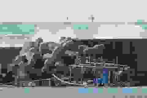 """Tàu """"ma"""" chở 8 thi thể nghi từ Triều Tiên trôi dạt vào biển Nhật Bản"""