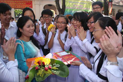 Niềm vui giản dị của người thầy