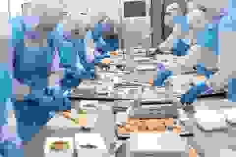 Thưởng Tết Dương lịch: Lao động ngành chế biến thủy sản nhận thưởng 50 nghìn đồng