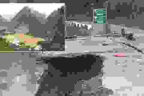 Thủy điện Bắc Mê xây dựng không phép, làm nứt nhiều nhà dân