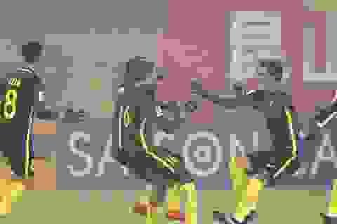 """Thắng Saudi Arabia trong cơn """"địa chấn"""", U23 Malaysia vào tứ kết U23 châu Á"""