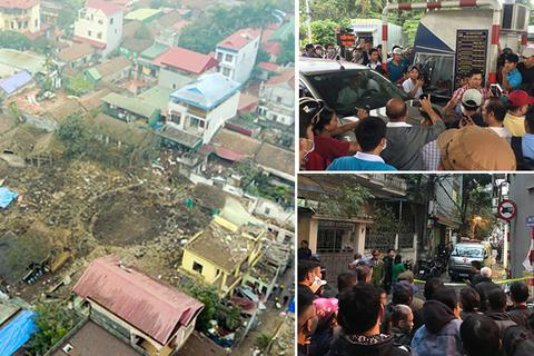 """Nổ lớn """"thổi bay"""" một góc làng và cái chết bất thường của chủ tịch huyện Quốc Oai"""