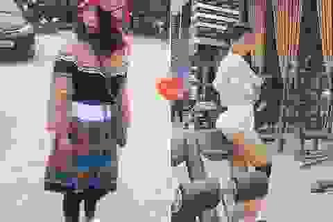 Cô gái vùng cao chịu khó tập gym sở hữu vòng ba 95cm