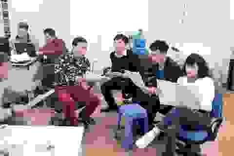 """Vân Dung, Xuân Bắc bị """"mắng"""" trong buổi tập đầu tiên của Táo Quân?"""