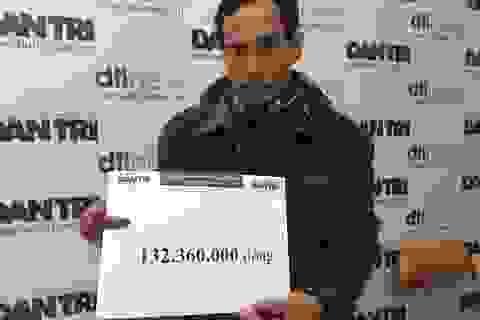 Hơn 132 triệu đồng đến với chị Hương bị tai nạn thập tử nhất sinh