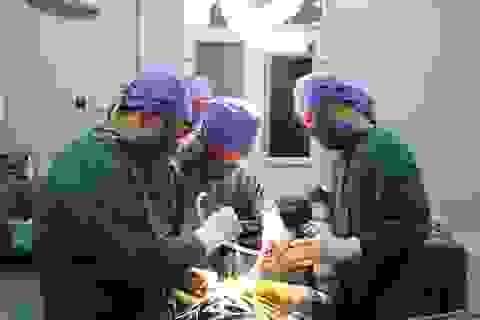 Anh Trần Quốc Long được phẫu thuật thay khớp miễn phí